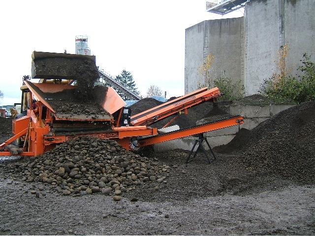Great for Sand and Gravel Screening