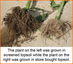 Benefits of using a topsoil screener